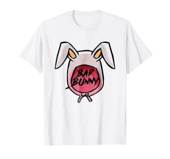 6e4fba21 Image Unavailable. Image not available for. Color: Rabbit Bad Bunny T Shirt  ...