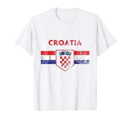 bf1caef3bf2 Image Unavailable. Image not available for. Color: Croatia Soccer Jersey Shirt  Hrvatska Nogomet Men Women Kids
