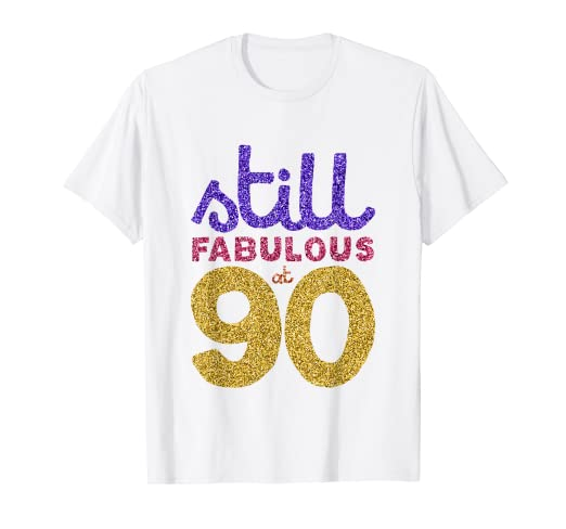 Image Unavailable Not Available For Color 90th Birthday Shirt Womens Gift Funny 90 Year Old Grandma