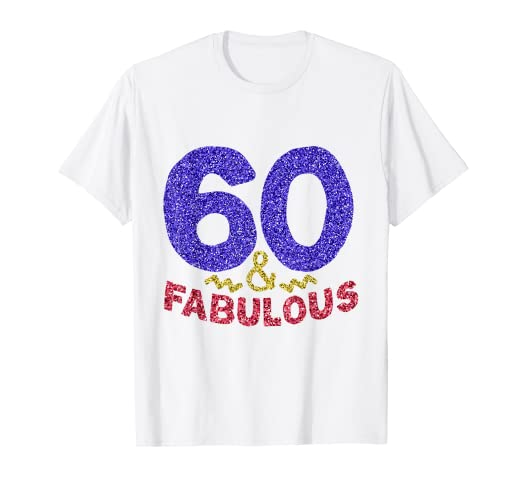 Amazon 60th Birthday Shirt For Women Grandma Funny 60 Year Old