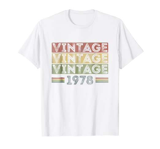 1978 T Shirt For Men And Women