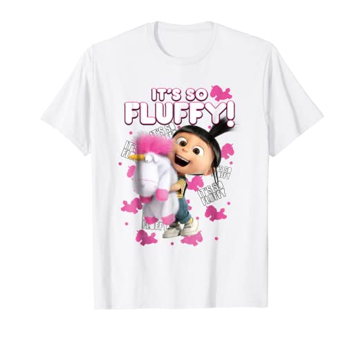 9487fb97c Image Unavailable. Image not available for. Color: Despicable Me Minions  Agnes It's So Fluffy Graphic T-Shirt