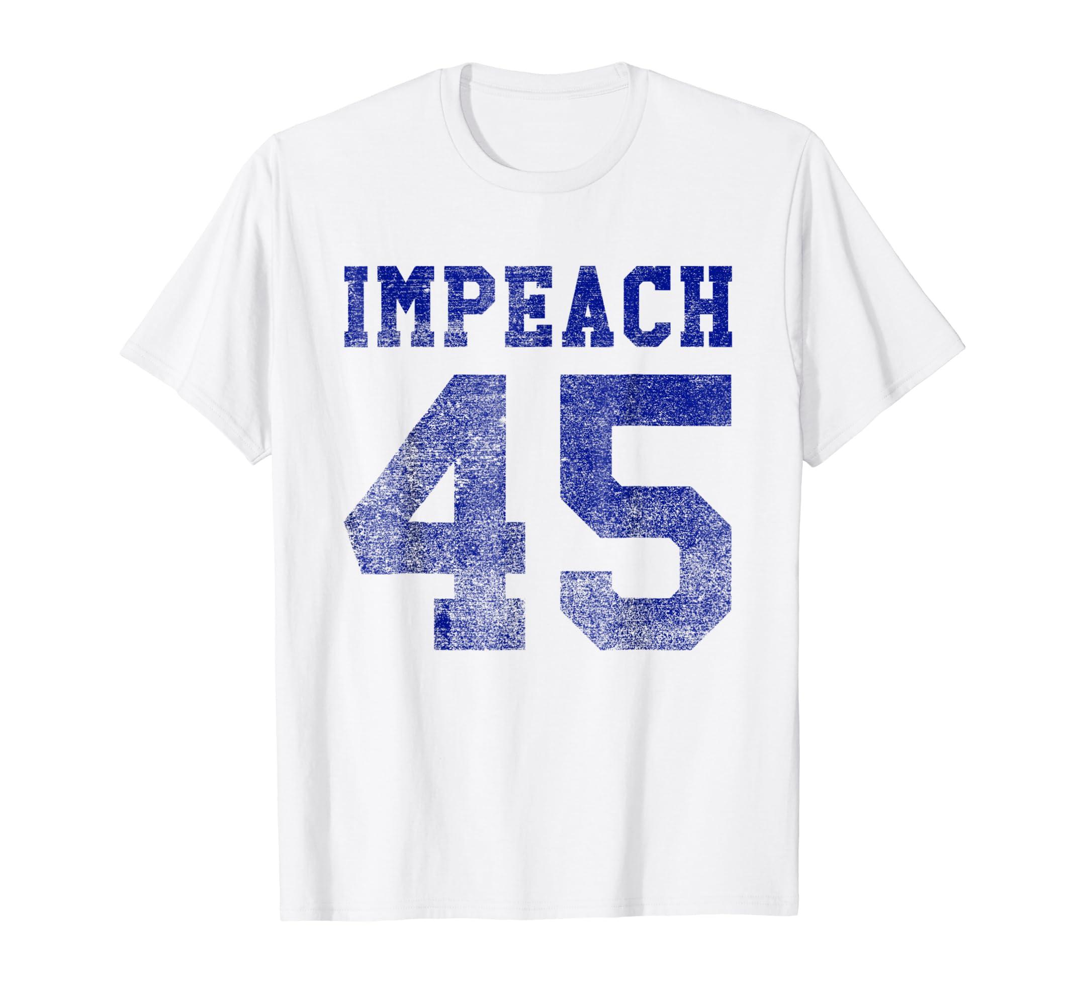 Vintage Impeach 45 Not My President T-Shirt-ln