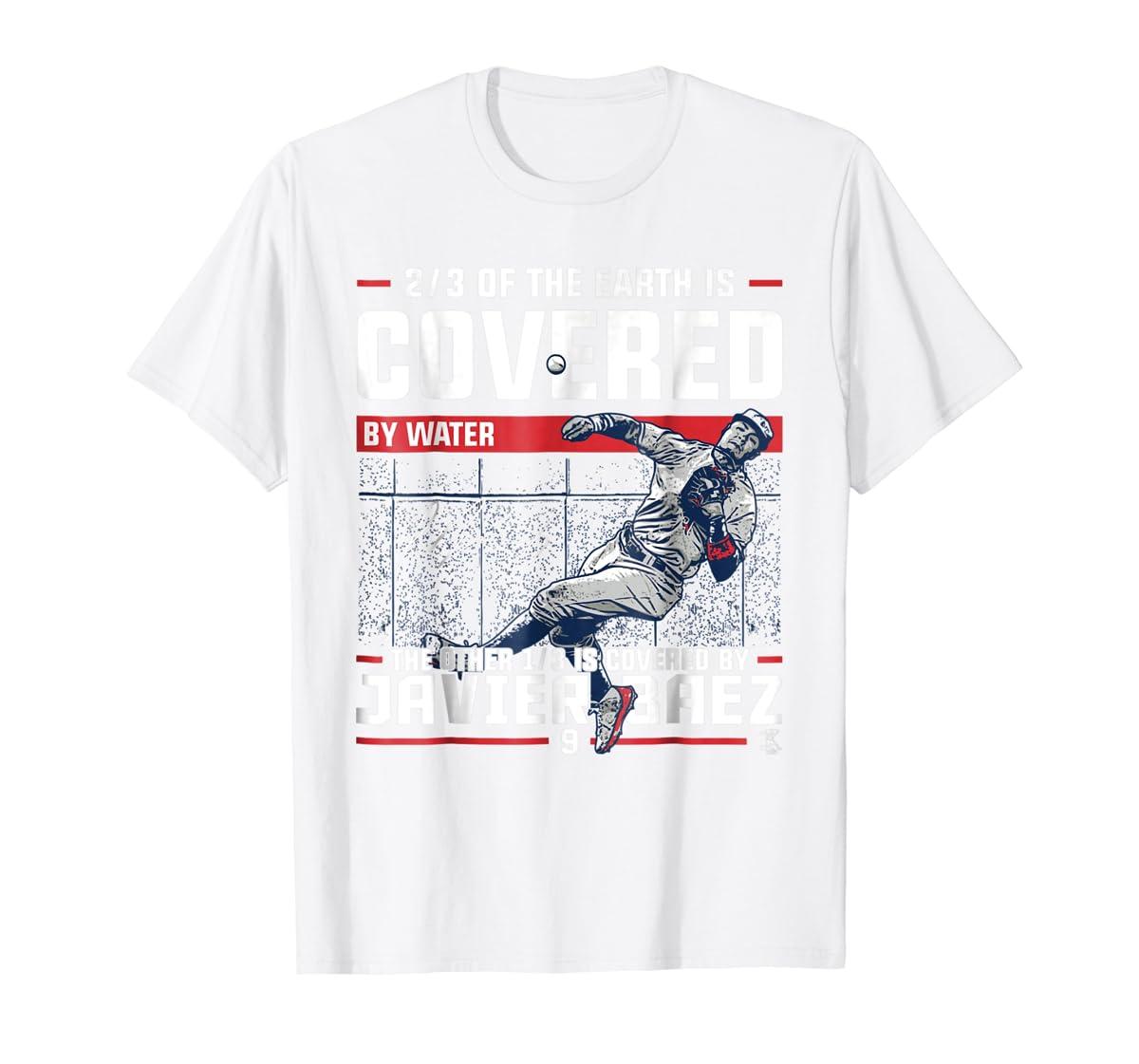 Javier Baez Covered By T-Shirt - Apparel-Men's T-Shirt-White