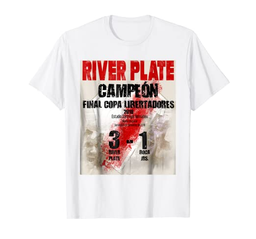 River Plate campeon Final Copa Libertadores camiseta