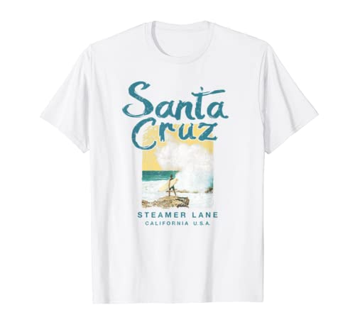 Santa Cruz California Vintage Surfer T Shirt