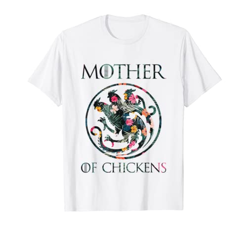 Flower Mother Of Chickens Shirt Mothers Day Gift Chicken Mom