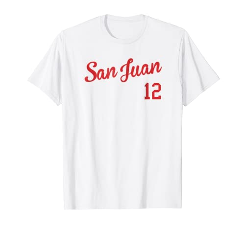 Amazon.com: Retro San Juan Baseball T-Shirt Camiseta Beisbol Puerto Rico: Clothing