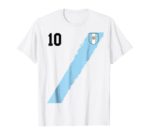 Amazon.com: Retro Argentina Team Soccer Futbol football Jersey T-Shirt: Clothing