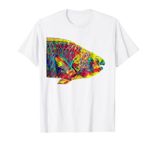 Amazon.com: Parrot Fish T-Shirt Water Creature For Animal Lovers Outfit: Clothing