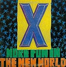 X More Fun In The New World ELEKTRA 60283-1 (Issued 1983) VINYL ORIGINAL LP