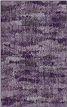 Brumlow Mills EW10132-30x46 Rustic Plum Purple Vintage Abstract Area Rug, 2'6
