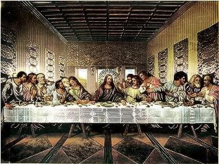 The Last Supper Jesus Christ Da Vinci(8