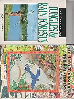 Jungles & Rain Forest /The Lost Treasure of the Rainforest (2 Book Set)