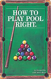 How To Play Pool Right