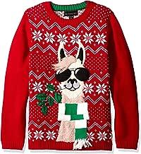 Blizzard Bay Boys Ugly Christmas Sweater Llama