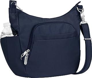 Travelon Anti-Theft Cross-Body Bucket Bag, Midnight, One...