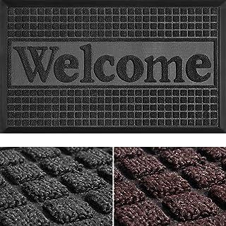 Welcome Mat - Door Mat - Welcome Mats for Front Door - Inside Door Mats - Doormat Indoor Entrance - Door Rugs for Entryway...