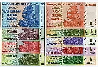 50 billion  Dollars Banknote Money Currency Note Bill SET OF  5 20 10