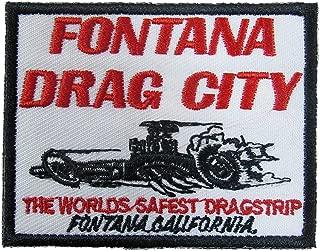 Fontana Drag City Iron On Patch