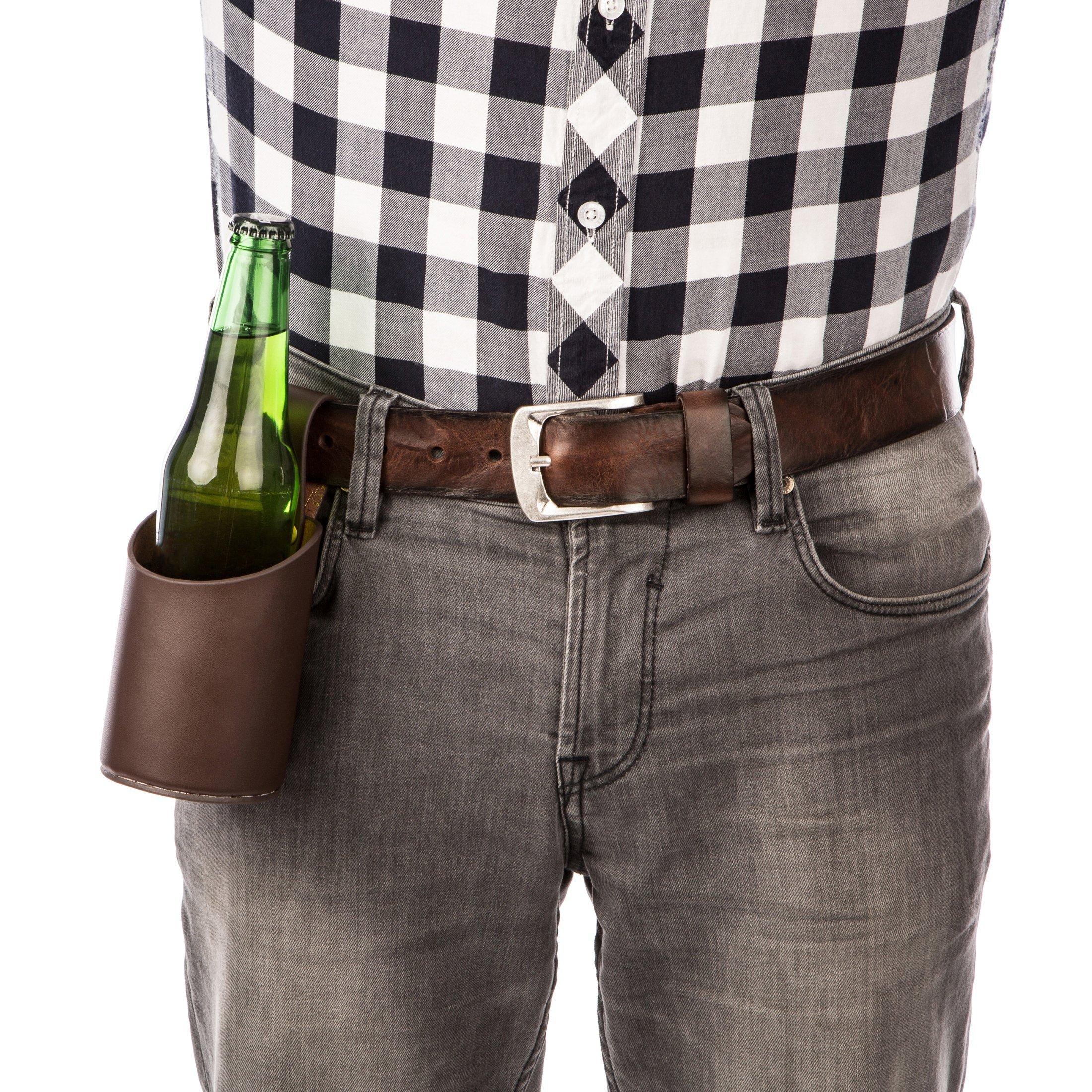 Compra Levivo Cartuchera para cerveza / cartuchera de cuero para ...