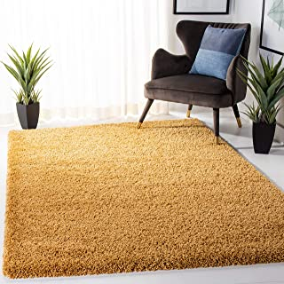 Amazon Com Gold Shag Area Rugs Rugs Pads Protectors Home Kitchen