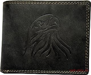 Unbekannt Portemonnaie Wasserbüffel Leder Adler geprägt