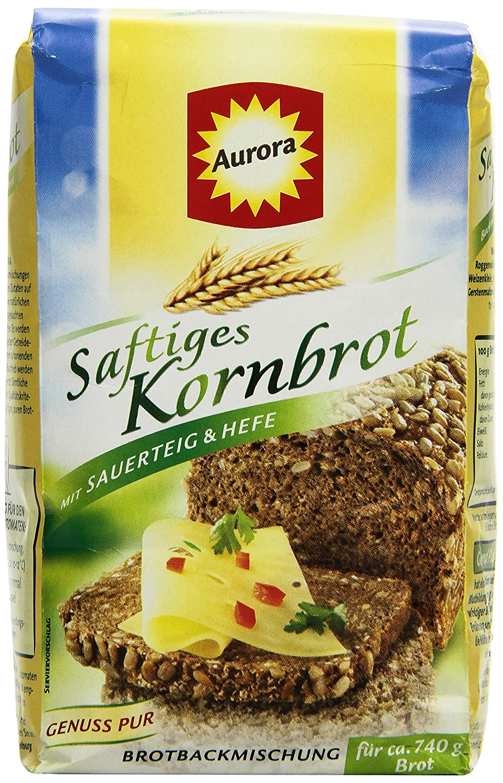 Aurora Saftkornbrot Brotbackmischung,20er Pack 20 x 20 g