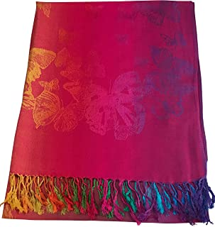 Butterfly Design Shawl Seconds Scarf Wrap Stole Throw Pashmina NEW