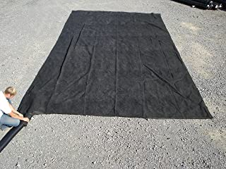 SedCatch Sediment Filter Dewatering Bag, 15' wide x 30' long, 8 oz. Nonwoven Geotextile, (Multiple Sizes Available)