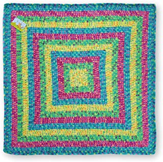 Squares in Square Hand Crocheted Baby Blanket
