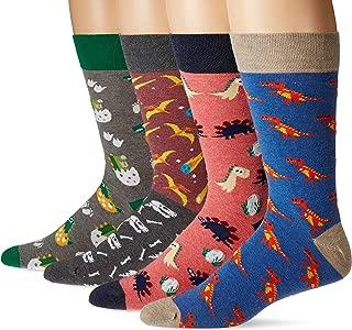(Multi Pack) Fun Socks Gift Pack for Men and Women - Crazy Funky Novelty Crew Socks - Premium Cotton