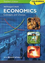 McDougal Littell Economics: Concepts and Choices California Teacher's Edition