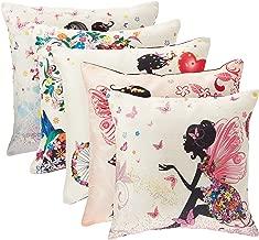Panache Exports Printed Cushion Cover, Multi-colour, 45 x 45 cm, PECUSCVR44, Set Of 5