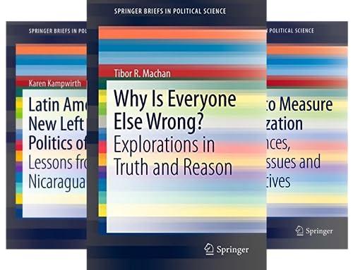 SpringerBriefs in Political Science (50 Book Series)