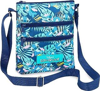 Disney Umhängetasche Damen, Lilo und Stitch Tasche Damen und Teenager, Kleine Umhängetasche Damen