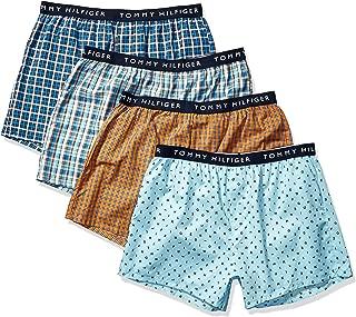 Men's Underwear Cotton 4 Pack Woven Boxers