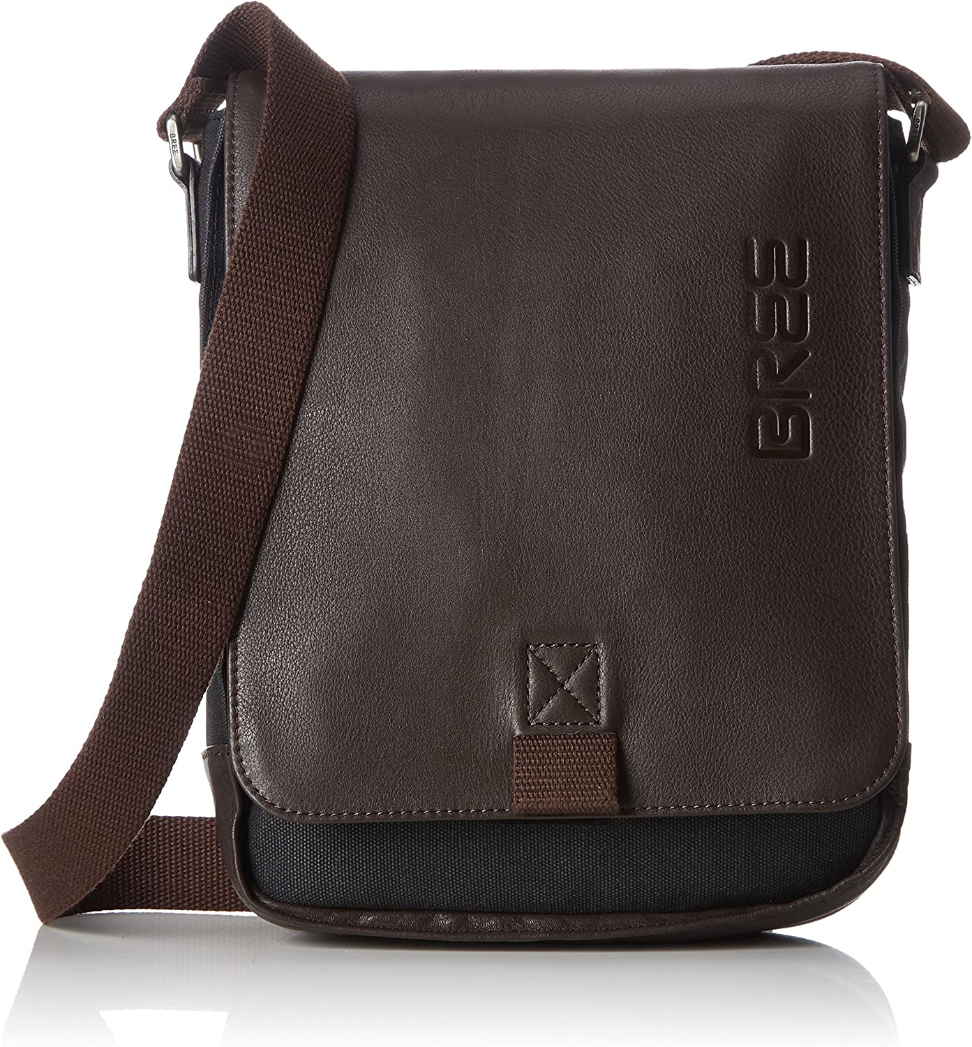 BREE Punch Casual 52, Anthra d. Br, Sh. Bag, Unisex Adults' Shoulder grey (Anthra.), 6.5x26x21 cm (B x H T)