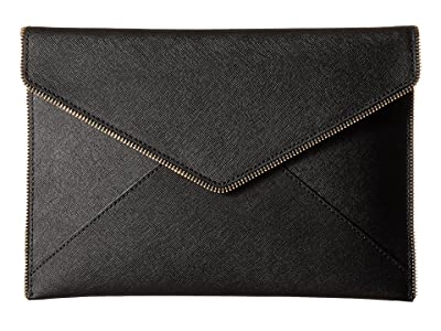 Rebecca Minkoff Leo Clutch (Black 4) Clutch Handbags
