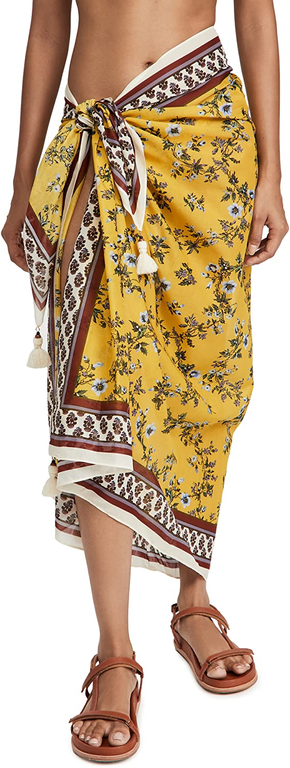 Tory Burch Women's Printed Pareo Cover Up
