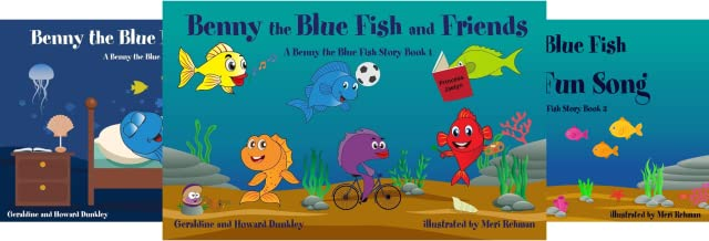 A Benny the Fish Story (5 Book Series)