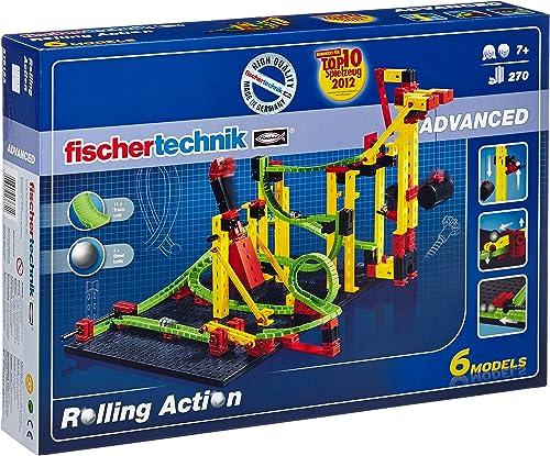 suministramos lo mejor Fischertechnik Rolling Action - Juego para Construir un un un Circuito de canicas  oferta especial