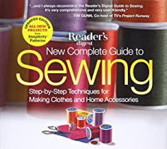 Download New Complete Guide to Sewing: Step-by-Step Techniques for Making Clothes and Home Accessories PDF