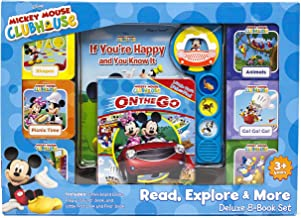 Disney Mickey Mouse Clubhouse - Read, Explore, & More Deluxe 8-Book Set - PI Kids