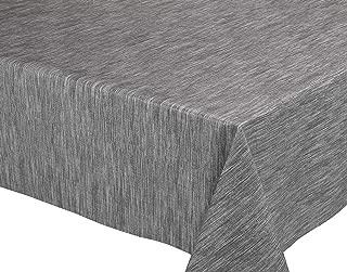 Rund 100 cm BEAUTEX Nappe en Vinyle Effet Dentelle avec Motif Fleuri effa/çable partiellement Transparent partiellement Transparent Blanc PVC Rond Ovale rectangulaire Taille au Choix