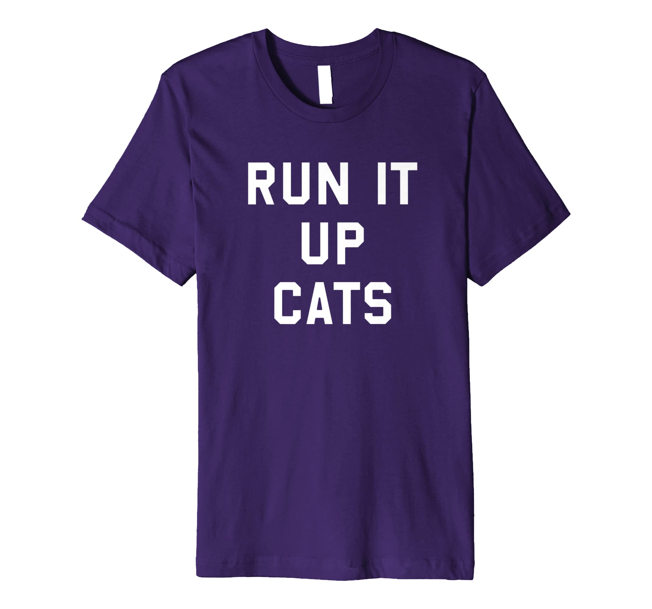 College Tailgate Apparel   Run It Up Cats T Shirt