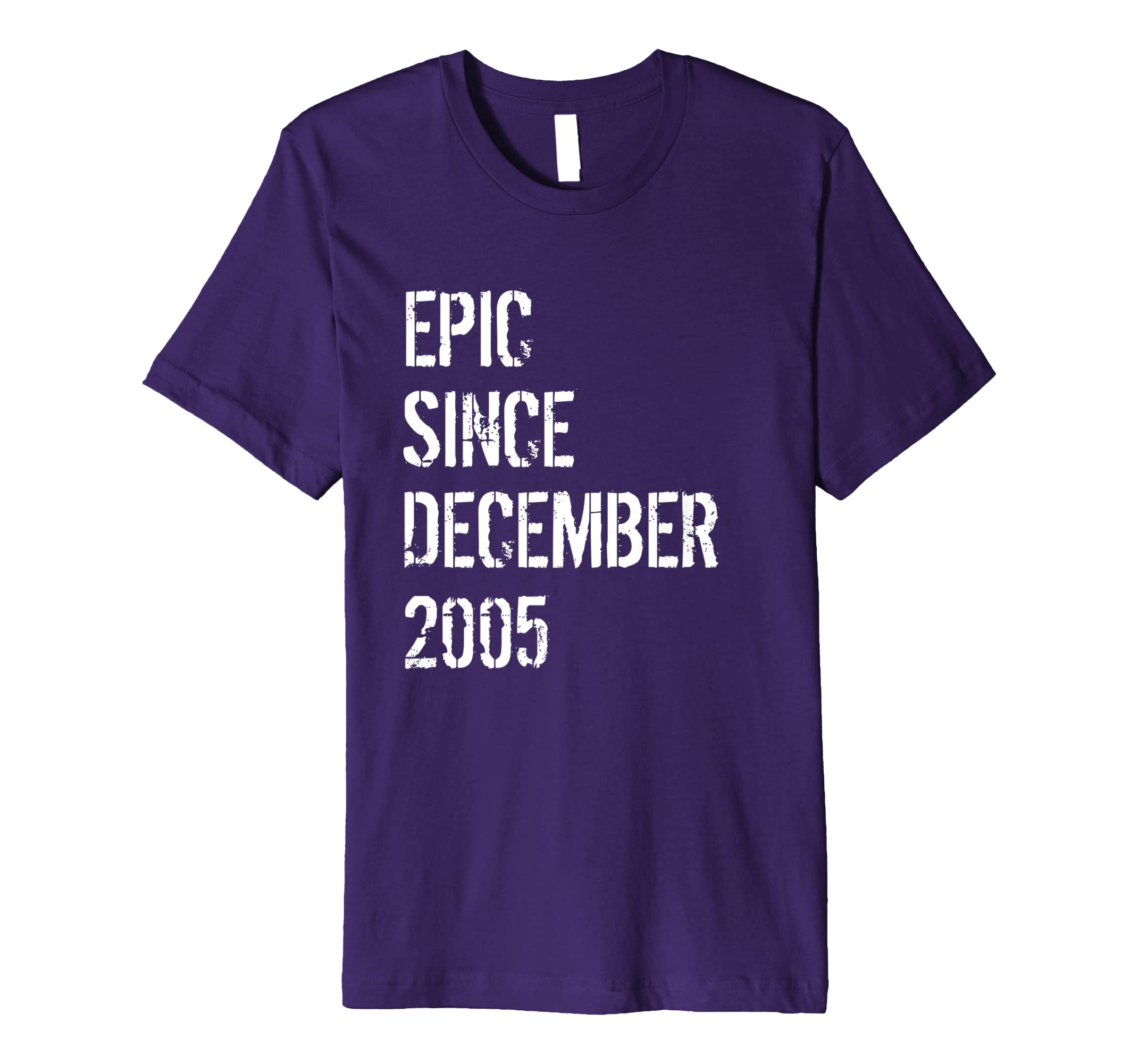 13 Year Old Gift T Shirt for Boys Girls Born December 2005-azvn
