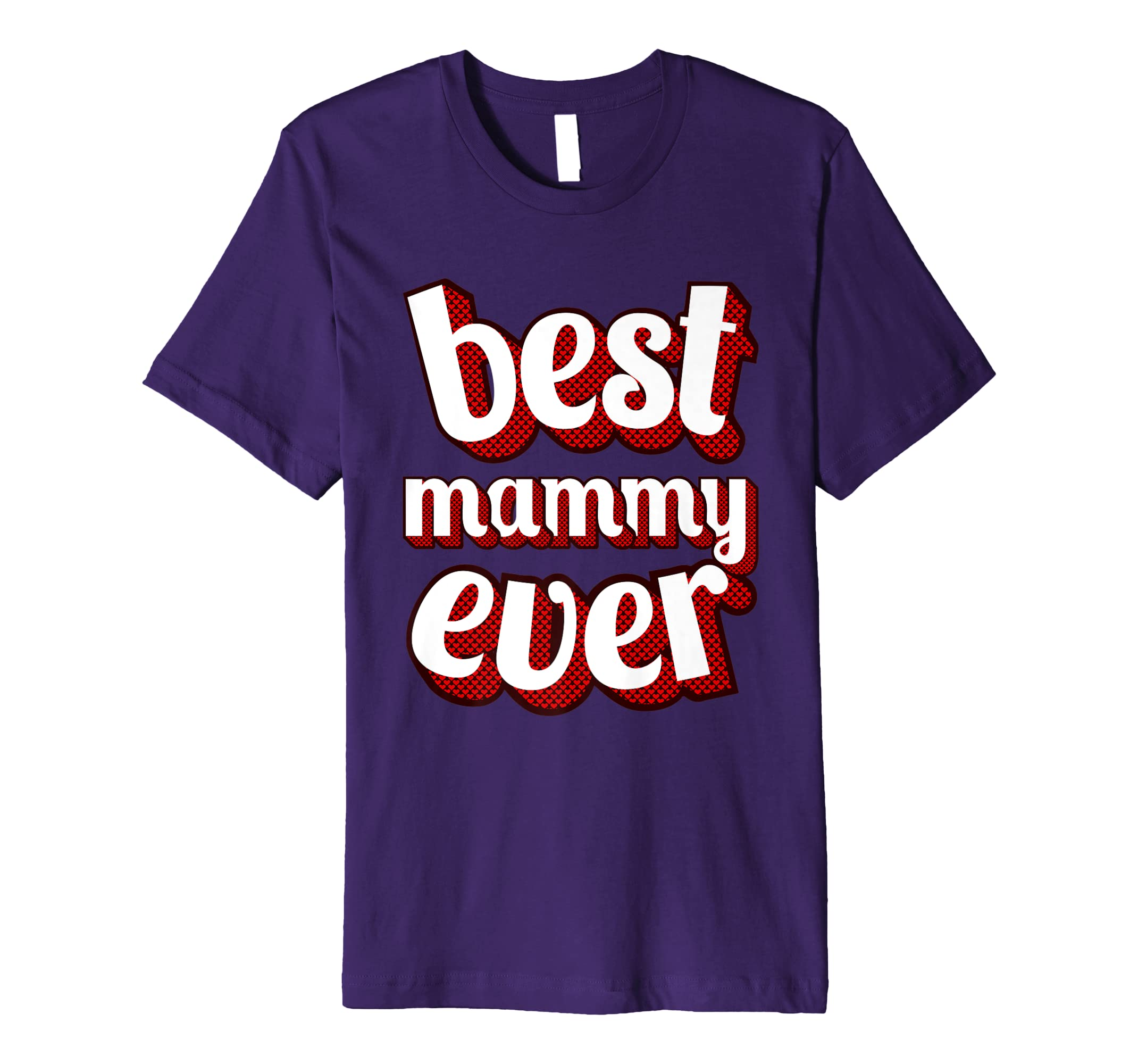 Best Mammy Ever Vintage Retro Classic Graphic T Shirt Design-alottee gift