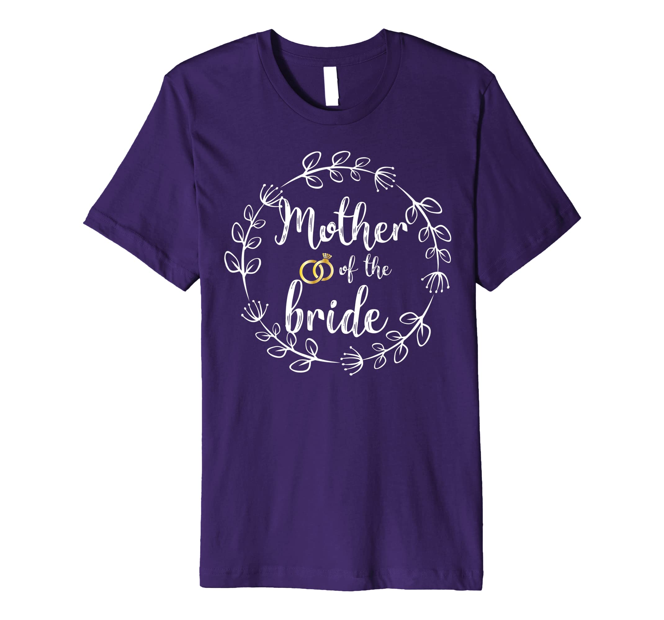 Mother Of The Bride Wedding T-Shirt Gift-ANZ