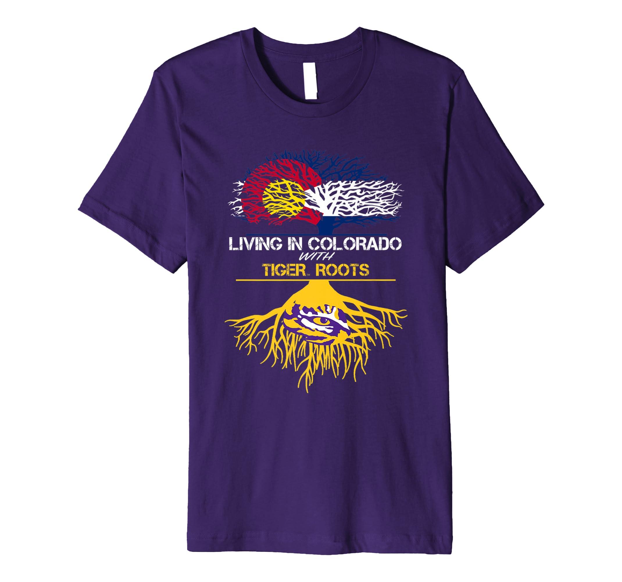 LSU Tigers Living Roots T-Shirt - Apparel-SFL